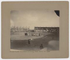 Bull Fight Ciudad Juarez Mex June 26 1900 (SMU Central University Libraries) Tags: bullfighting bullfighters