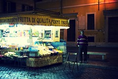 Vendor (ckru) Tags: light vacation italy food rome travelling night canon gloom dslr situation