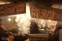 Djemaa EL Fna food stall (pbelskamp) Tags: morocco marrakech marokko foodstall djemaaelfna