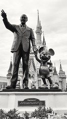 w) Discover (Excellence) (SaltyDogPhoto) Tags: travel sky blackandwhite bw usa monochrome statue clouds photography nikon florida cloudy disney genius nikkor waltdisneyworld themepark magickingdom discover lowangle excellence photooftheday entrepreneur lowpov nikonphotography nikkorafs1855 skancheli nikond7200 saltydogphoto