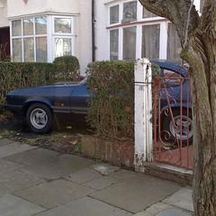 [====] (uk_senator) Tags: blue ford capri laser mk3