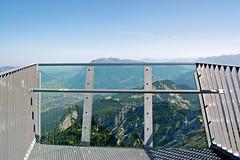 Garmisch - Alpspitze (08) - AlpspiX-Aussichtsplattform (Pixelteufel) Tags: bayern bavaria urlaub alpen ferien freizeit tourismus garmischpartenkirchen gebirge erholung bergwelt stahlkonstruktion aussichtsplattform