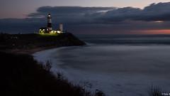 Montauk Lighthouse. (Vitaliy973) Tags: ocean morning lighthouse ny beach night sunrise lights nikon longisland atlantic d750 montauk fx atlanticocean