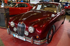 Jaguar MK2 3.4 1961 (benoits15) Tags: old uk england english classic cars car festival vintage nikon automobile flickr meeting automotive voiture historic retro collection mk2 british motor jaguar nimes 34 coches 1961 prestige anciennes