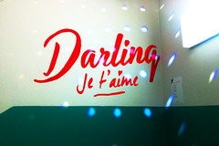 Darling Bowling, Montreal (Exile on Ontario St) Tags: light love sign wall writing french disco lights words alley mural paint pin commerce montral lumire montreal entrance bowl pins peinture business amour staircase lane bowling mirrored salon iloveyou welcome exit language mirrorball discoball mur darling franais wallpainting escalier cursive mots criture signe lumires salle langue entre enseigne lanes glitterball maisonneuve graphisme hochelaga quille hochelagamaisonneuve discobowling jetaime nom businessname bouledisco peindre quilles bowlingdarling boulefacettes boulemiroir businessmural salondequillesdarling darlingbowling quillesdarling