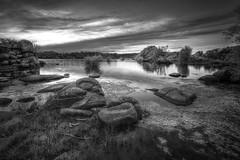 watson lake (BarryKelly) Tags: arizona sky lake tree rocks watson prescott refelection