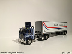Diecast replica of Carretta Trucking Freightliner COE, DCP 32044 (Michael Cereghino (Avsfan118)) Tags: scale truck vintage toy model die cab over engine semi replica cast 164 inc coe trucking promotions diecast dcp freightliner cabover carretta 32044