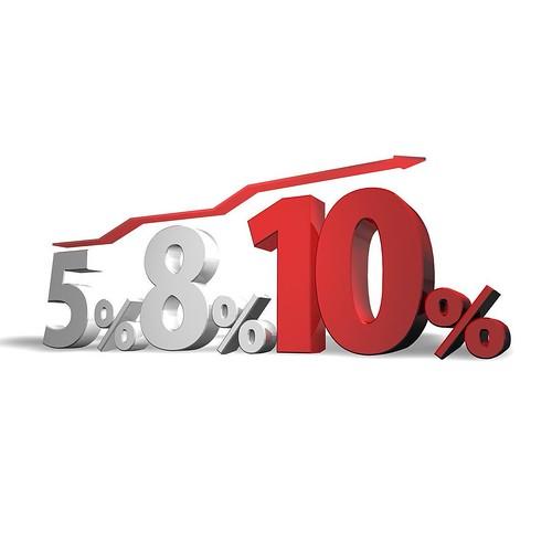 TAX 8% to 10% . for #fotolia #PIXTA #photolibrary #消費税 #消費税増税 . #dcom-jp