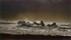 Tempête en Bretagne (jyleroy) Tags: ocean sea mer storm france canon eos rebel brittany europe ngc wave bretagne atlantic tempest vague tempête finistère atlantique océan porspoder frenchbrittany nationalgeographicgroup 700d t5i