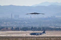 DSC_1900 (Eleu Tabares) Tags: las vegas red airplane us force exercise spirit flag aircraft military air nevada b2 stealth bomber base warplane nellis