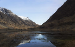 pano2 (Bowz999) Tags: snow mountains sunrise landscape bay scotland glencoe moor rannoch milarrochy