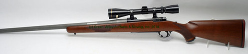 Ruger M77 .220 Swift Caliber Bolt-Action Rifle w/ Custom Barrel & Leupold Scope $907.50 - 4/11/14