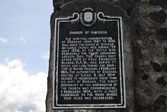 cagsaua or cagsawa (Rex Montalban Photography) Tags: sign philippines belltower cagsaua cagsawa mayonvolcano buriedchurch