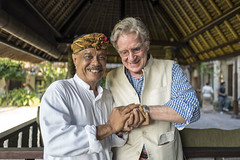Professor Bob Thurman & Agung Rai (Christopher.Michel) Tags: bali art robert museum rai thurman agung bobthurman geoex