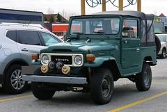 Toyota Land Cruiser FJ40 (Custom_Cab) Tags: green wheel truck four drive j 4x4 4 4wd toyota land series 40 fj cruiser fj40 j40 softop 40series