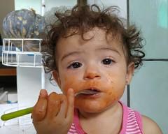 dog eat dog (Rodrigo Alceu Dispor) Tags: portrait people dog face spoon eat