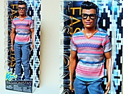 The mysterious Ken (imida73) Tags: ken fashionista mattel 2016