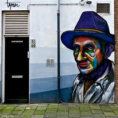 Rotterdam: ME LIKE PAINTING (Akbar Sim) Tags: streetart holland netherlands graffiti rotterdam mural nederland rotjeknor roffa melikepainting akbarsimonse akbarsim