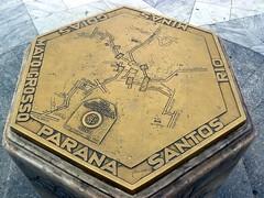 Kilometer zero (Serghei Zadorojnai) Tags: brazil saopaulo 2012 kilometerzero 201204 20120414