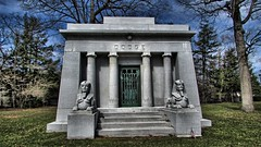 Woodlawn Cemetery Detroit, MI (Crunch53) Tags: cemeteries cemetery graveyard mi outdoors michigan detroit motors mausoleum dodge hdr woodlawn woodlawncemetery