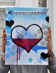 Experience Matters (id-iom) Tags: street uk blue england urban woman streetart london love girl face wall lady graffiti cool eyes stencil mess paint wine head arts spray drip vandalism spraypaint brixton acrylicpaint idiom beinspired paintmarker aerosolpaint