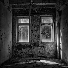 FensterHR (naturalbornclimber) Tags: urban bw decay radiation nuclear ukraine hasselblad disaster medium format exploration bnw zone chernobyl exclusion urbex tschernobyl pripyat hasselblad503cx prypjat