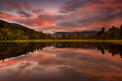 Lake Matheson -20160410-0973-Edit-20160410-7360 x 4912 (James Yu Photography) Tags: lakematheson reflction jamesphotography jameszhenyu