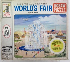 1964/1965 Worlds Fair Jigsaw Puzzle (jazs5736) Tags: souvenir jigsawpuzzle 19641965worldsfair