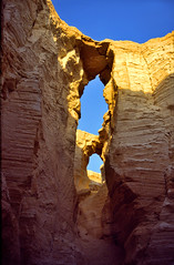een kloof in de zoutbergen nabij de Dode Zee, Isral 1994 (wally nelemans) Tags: canyon 1994 karst isral kloof kras flourcave saltmountains doline zoutbergen