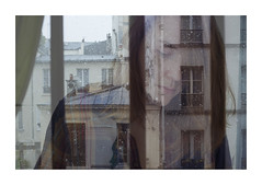 Mixed feelings (Polcaroid) Tags: winter portrait woman selfportrait paris france art home girl digital photoshop canon myself spring autoportrait expo 40mm lovely toulouse dslr feelings versus digitalphotography 6d douceur flickraddict doubleexpo 40mmlens canon6d canonfrance carolinebleux