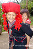 Auntie and child (10b travelling) Tags: old red woman girl asian lumix asia asien southeastasia child northwest hiking vietnam valley older asie turban northern dao sapa laocai indochine indochina 2015 reddao làocai peopleset tenbrink muonghoa carstentenbrink iptcbasic 10btravelling
