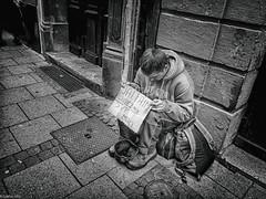 Homeless (Graffyc Foto) Tags: street white black photography noir foto homeless nb strasbourg help and fujifilm et blanc sdf hdr sans abri 2015 graffyc fujifilmx30