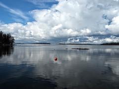 Peace (jarimakila) Tags: sea clouds finland helsinki fi lauttasaari uusimaa