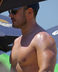 IMG_0701 (danimaniacs) Tags: shirtless man guy pecs beard mexico hunk puertovallarta stud scruff mansolo