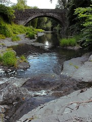 A Bridge ... River Stream Water Wales Random Rocks   (Almena14) Tags: bridge water wales river rocks stream random