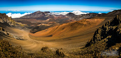Haleakala Crater in Maui _DSC8106 Panorama (The Smoking Camera) Tags: sky panorama mountain nature clouds landscape volcano hawaii cone pano sony maui haleakala crater breathtaking maunakea cinder breathtakinggoldaward breathtakinghalloffame rx1rii rxi1ii