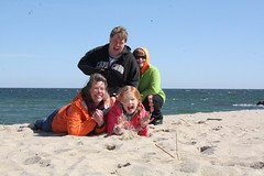 obligatory family portait (TheFairView) Tags: ocean beach familyportrait oceangrove