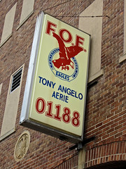 Fraternal Order of Eagles, Latrobe, PA (Robby Virus) Tags: club order pennsylvania tony angelo fraternal organization eagles aerie latrobe