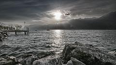 Garda Tonemapped (Lothar Heller) Tags: travel italien italy lake landscape garda landschaft gardasee veneto