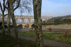 40080189 (wolfgangkaehler) Tags: bridge france water french europe european roman bridges unescoworldheritagesite aqueduct nimes pontdugard aqueducts southernfrance 2016 1stcenturyad gardonriver garddepartment