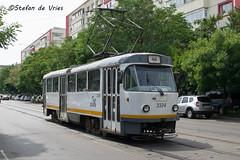 Ratb Tatra 3324 (stefanrene1996) Tags: station tram romania nord gara boekarest ratb roemeni bucureti