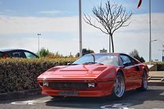 Ferrari 308 GTB (33425) (Fido_le_muet) Tags: cars coffee car les sunday ferrari 24 tours avril meet monthly espace dimanche gtb 308 2016 touraine malraux jou rasso rassemblement 33425 mensuel joulestours