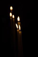 (macresse) Tags: light black dark candles noir bougies obscur flammes cieges