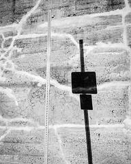Turn and hide (emrold) Tags: shadow bw abstract texture wall slim signpost saintjohn agfascala200 parging vanishingact vsco vscofilm04 xf23mmf14r fujifilmxt1 2016emrold|ericdelorme
