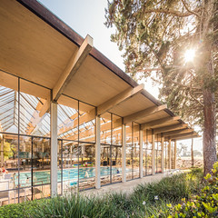 UCSD Natatorium (Chimay Bleue) Tags: california college pool architecture la san university modernism diego lajolla architect sd muir jolla weston modernist piscine ucsd liebhardt