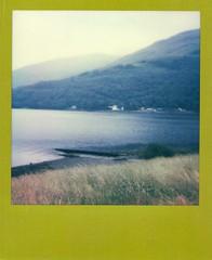 Perfect View (tz70) Tags: polaroid scotland image 600 polaroids loch lomond lochlomond cobbler impulse