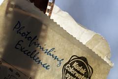 20160418-IMG_3030 HMM Bag... No negative comments! (grammiev) Tags: camera old macro film backlight bag paper kodak memories hmm negatives kodakgold kodakcolorwatchsystem photofinishingexcellence