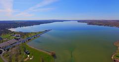 Owasco Lake (Matt Champlin) Tags: lake ny spring auburn aerial cny fingerlakes aerialphotography springtime drones drone 2016 phantom3 dji owasco owascolake djiphantom3