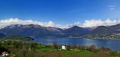 ITALIA BELLA. (Salvatore Lo Faro) Tags: italy verde montagne canon italia nuvole cielo azzurro lombardia salvatore bellezza colico g16 llagodicomo lofaro