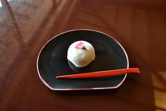 Sakura snack (rocketlass) Tags: japan tea snack sakura hakone manju hakonemuseumofart